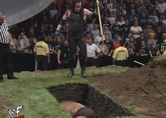 buried alive matches that have taken place in wwe iwnerd com