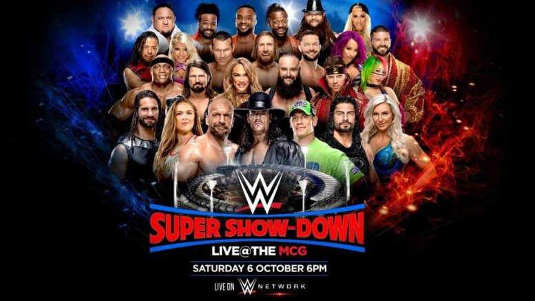 Update On The Length And Start Time Of WWE Super Show-Down